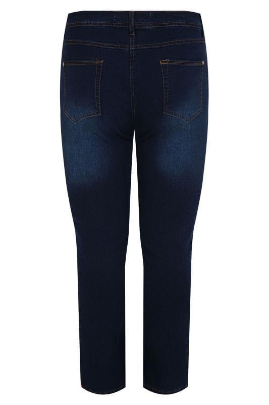 Indigo Blue Straight Leg RUBY Jeans