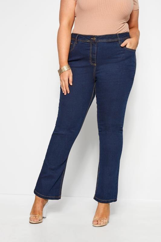 Bootcut Jeans ISLA - Dunkelblau