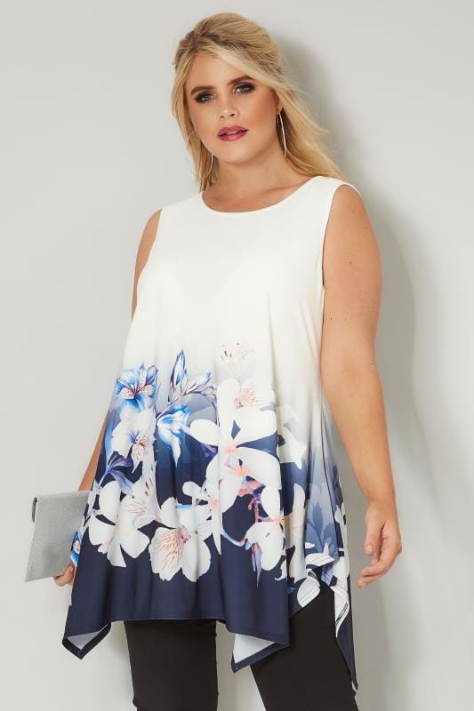 Yours cami top blouse plus size 16 18 20 22 24 26//28 30//32 34//36 blossom print