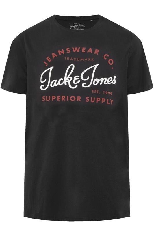 T-Shirts JACK & JONES Black Logo T-Shirt 201328