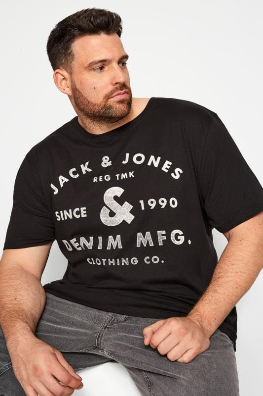 T-Shirts JACK & JONES Black T-Shirt