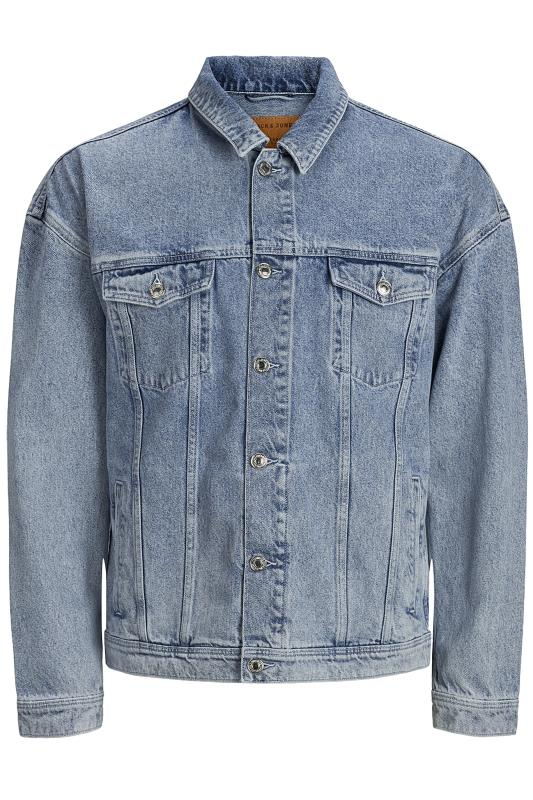 Plus-Größen Jackets JACK & JONES Jeansjacke - Blau