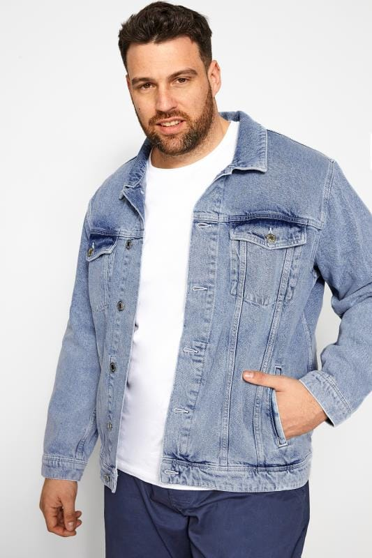 Jackets JACK & JONES Blue Denim Jacket 202289