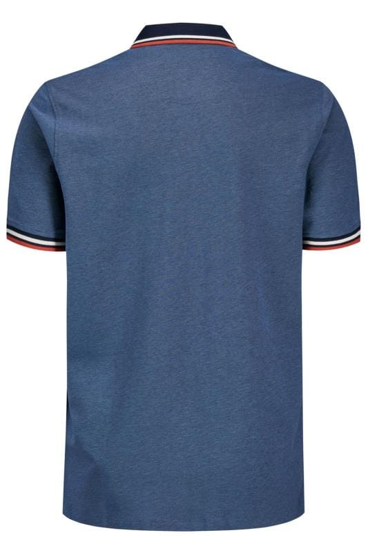 JACK & JONES Blue Paulos Polo Shirt