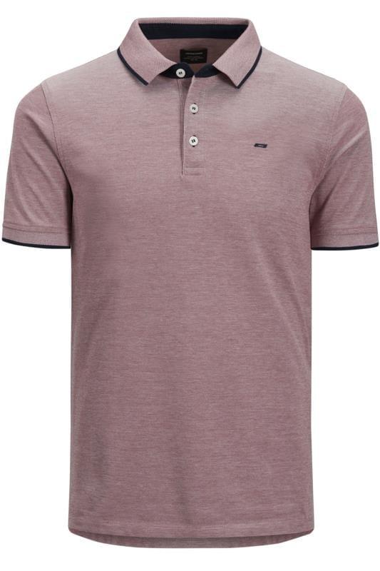 Polo Shirts JACK & JONES Dark Purple Polo Shirt 201541