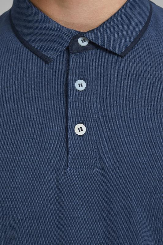 JACK & JONES Navy Paulos Polo Shirt