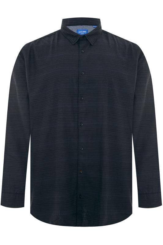 JACK & JONES Navy Stripe Shirt