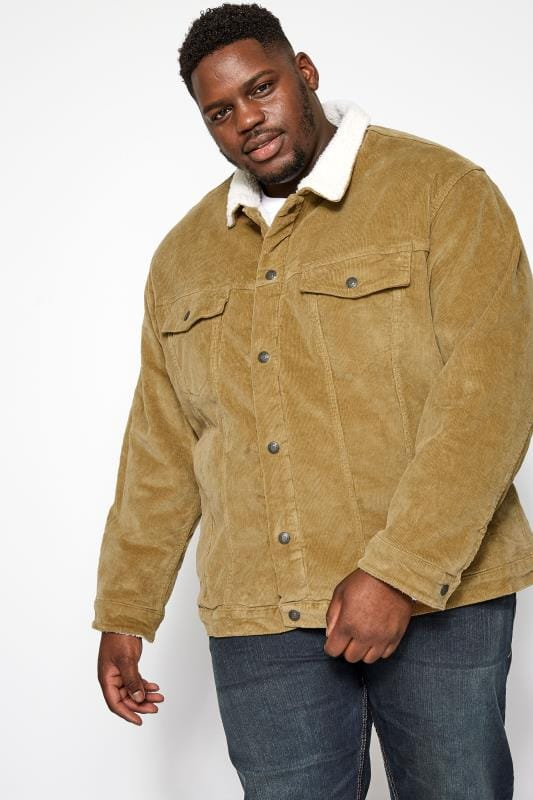Plus Size Jackets JACK & JONES Stone Corduroy Jacket
