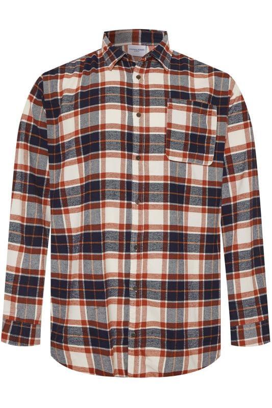 JACK & JONES Rust Check Long Sleeve Shirt_175b.jpg