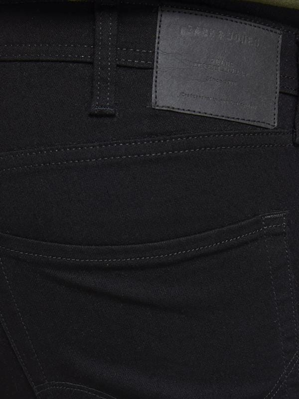 JACK & JONES Black Original Slim Fit Jeans