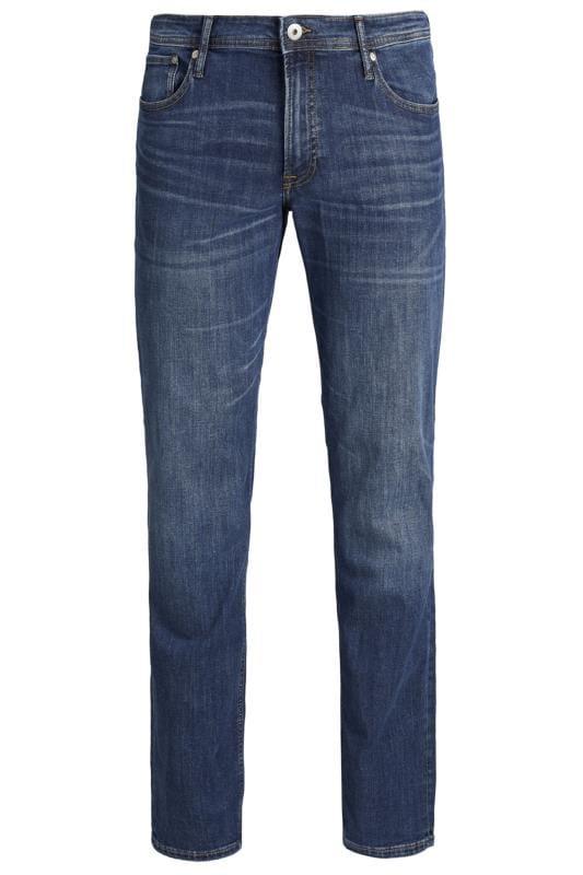 JACK & JONES Blue Straight Leg Jeans
