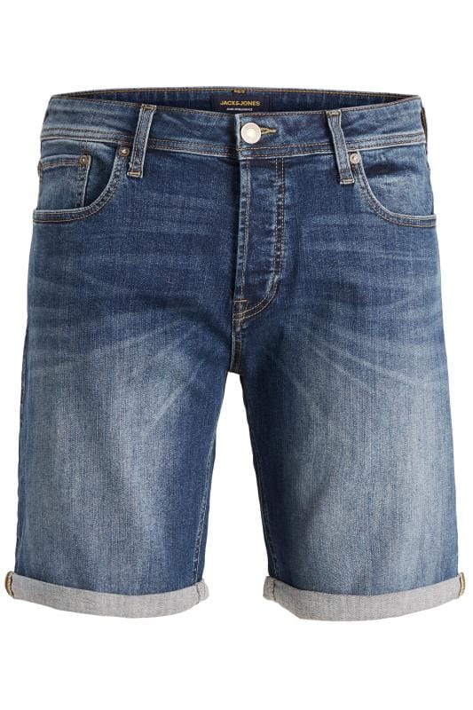 JACK & JONES Blue Denim Shorts