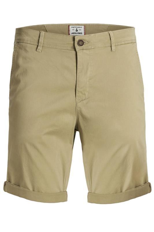 JACK & JONES Stone Chino Shorts