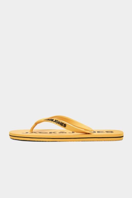 JACK & JONES Yellow Flip Flops
