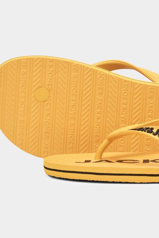 Shoes JACK & JONES Yellow Flip Flops 201511