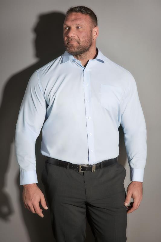 Smart Shirts JP 1880 Blue Comfort Fit Shirt 200869