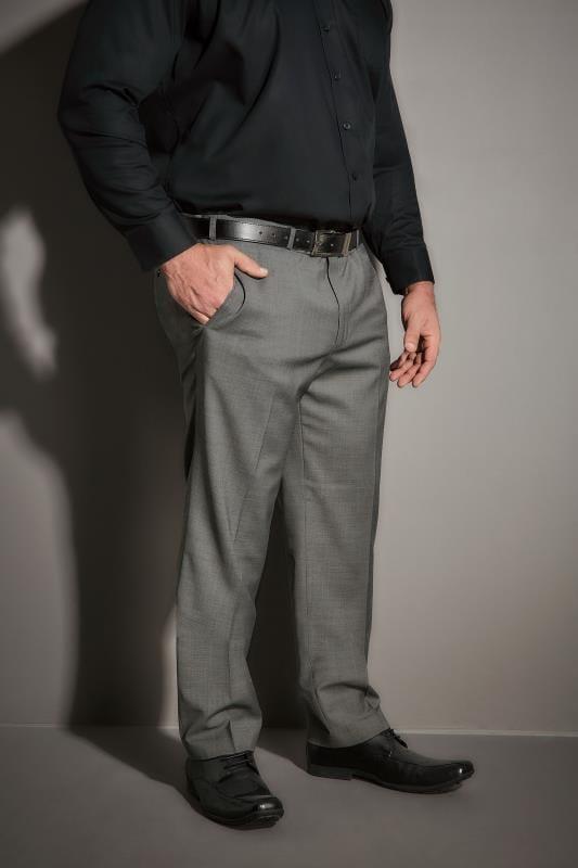 JP 1880 Light Grey Suit Trousers