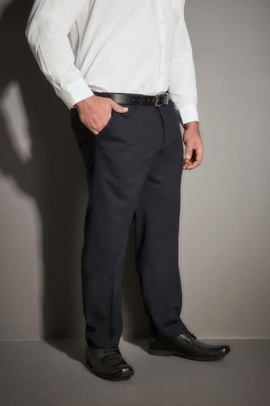 JP 1880 Navy Comfort Fit Suit Trousers