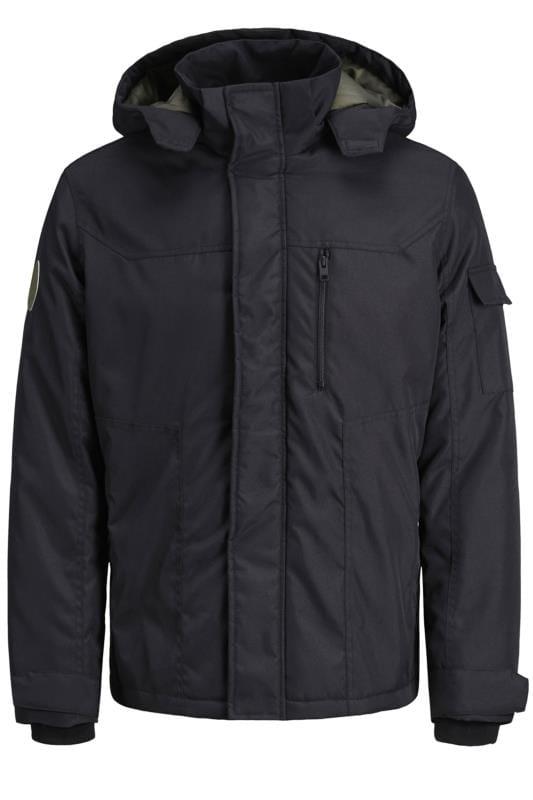 Jackets JACK & JONES Black Padded Jacket 202045