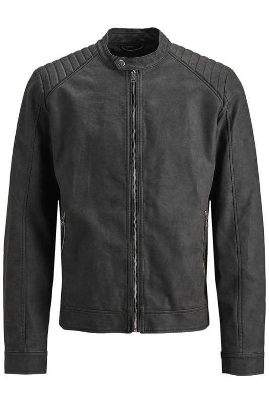 Jackets JACK & JONES Faux Leather Biker Jacket