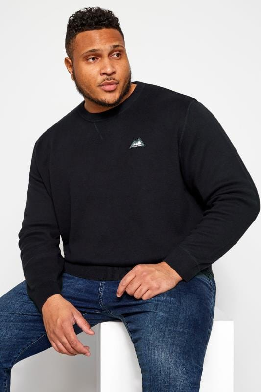 Sweatshirts Jack & Jones Navy Crew Neck Sweatshirt 201978