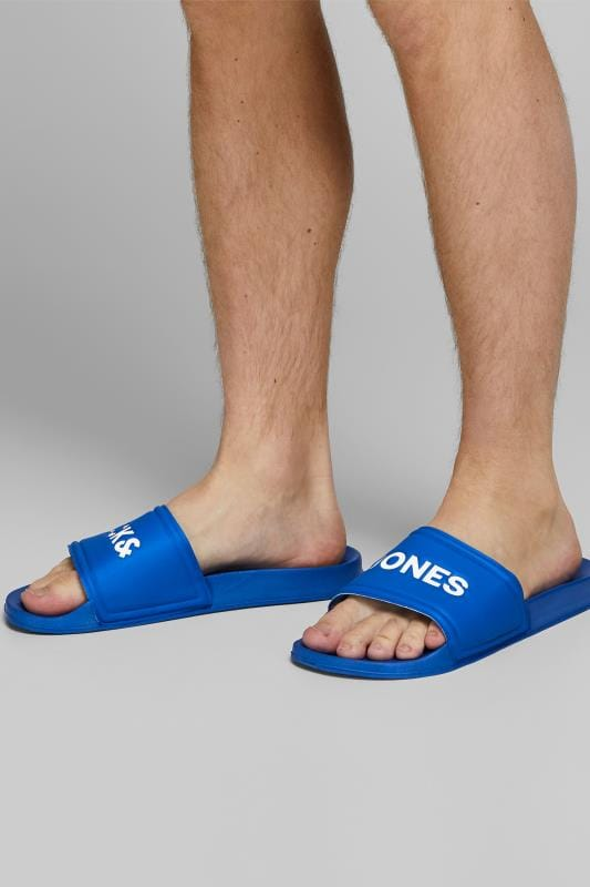 Shoes JACK & JONES Blue Pool Sliders 201507