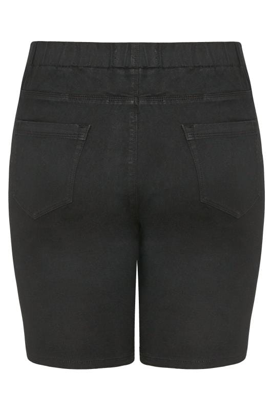 Black JENNY Jegging Shorts