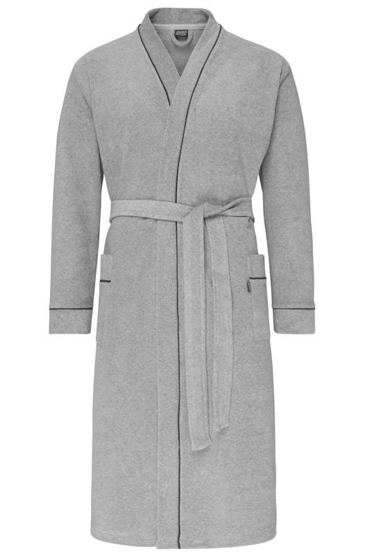 Beauty Tallas Grandes JOCKEY Grey Bathrobe