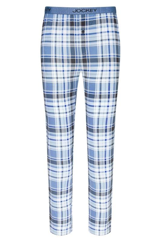 Plus-Größen Corsage JOCKEY Light Blue Lounge Jersey Pyjama Bottoms