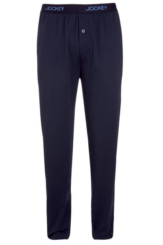 Boxers & Briefs JOCKEY Navy Lounge Jersey Pyjama Bottoms 203003