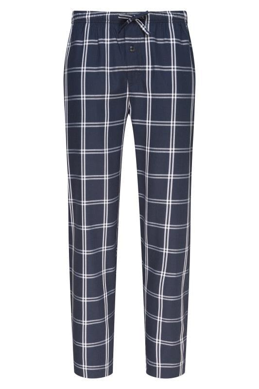 Nightwear JOCKEY Navy Check Lounge Pyjama Bottoms 203005