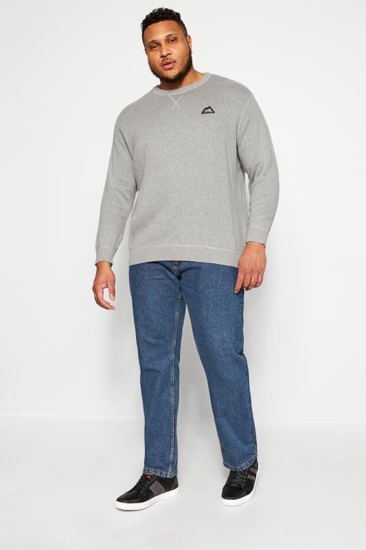 KAM Blue Stretch Denim Jeans