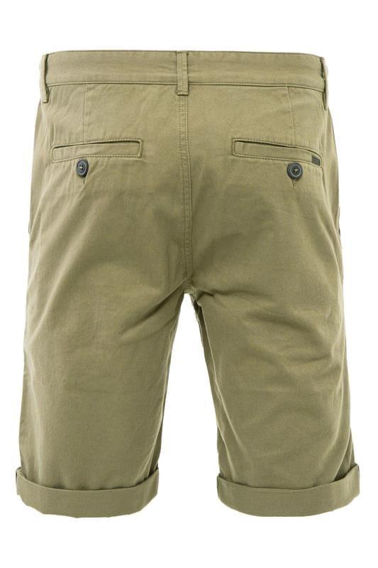 KANGOL Khaki Green Chino Shorts