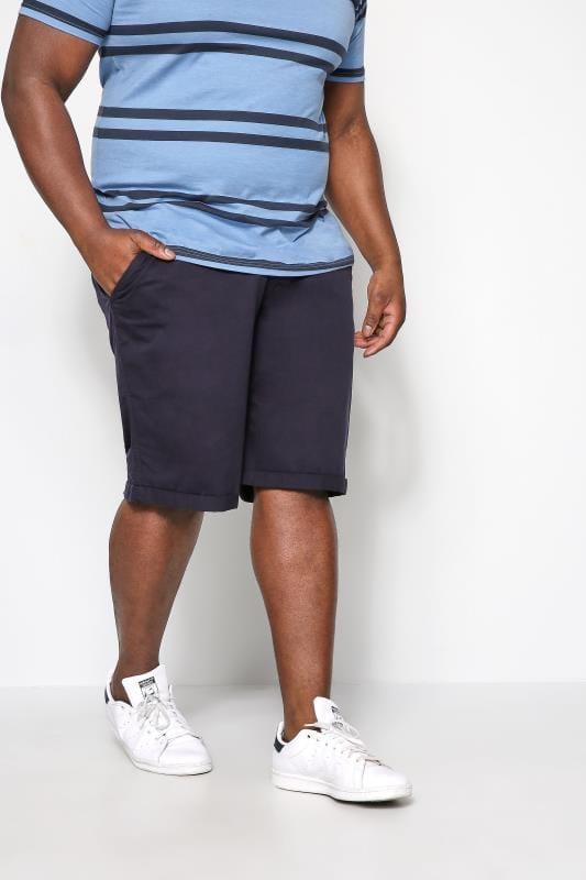 KANGOL Navy Chino Shorts