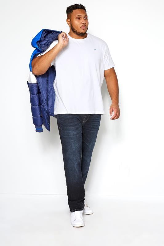 KANGOL Navy Darkwash Regular Fit Jeans