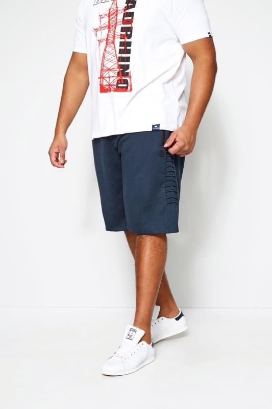 Plus Size Joggers KANGOL Navy Jogger Shorts