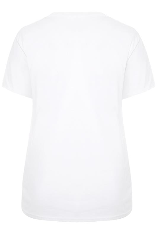 LIMITED COLLECTION White 'Be Kind' Charity Donation T-Shirt