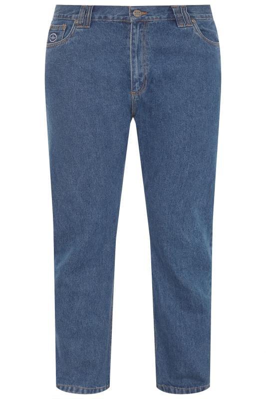 Men's Hair Accessories KAM Blue Stretch Jeans
