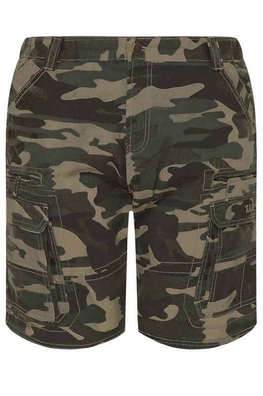 Cargo Shorts KAM Khaki Camo Cargo Shorts 201933