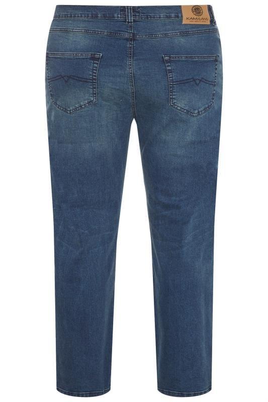 KAM F101 Blue Stonewash Jeans