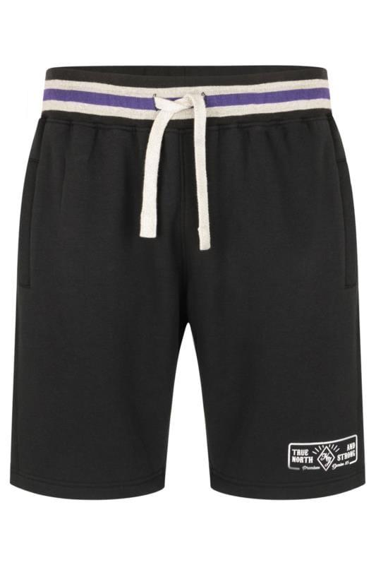 Jogger Shorts KAM Black Jogger Shorts 202663