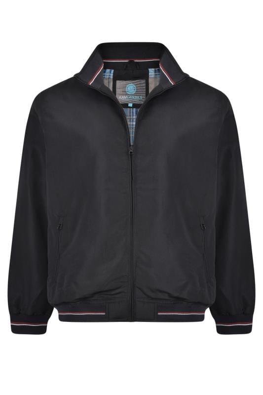Jackets KAM Black Casual Jacket
