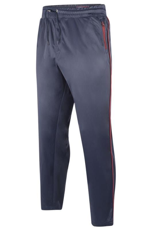 KAM Navy Contrast Joggers