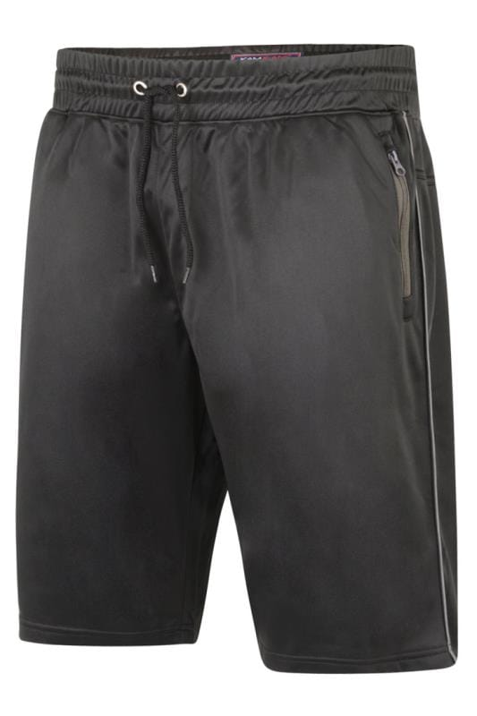 Jogger Shorts KAM Black Contrast Sports Shorts 203578