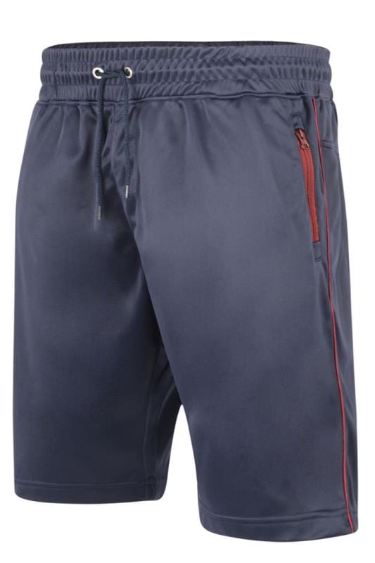 Men's Jogger Shorts KAM Navy Contrast Sports Shorts