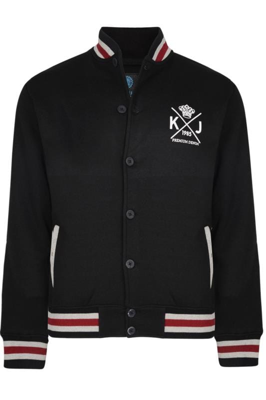 KAM Black Varsity Sweatshirt