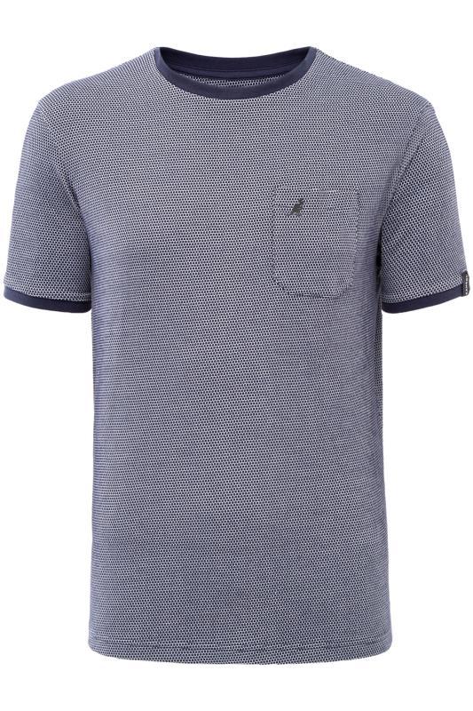 T-Shirts KANGOL Navy Birdseye T-Shirt 201678