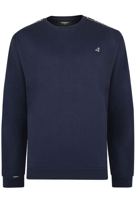Sweatshirts KANGOL Navy Taped Sweatshirt 201697