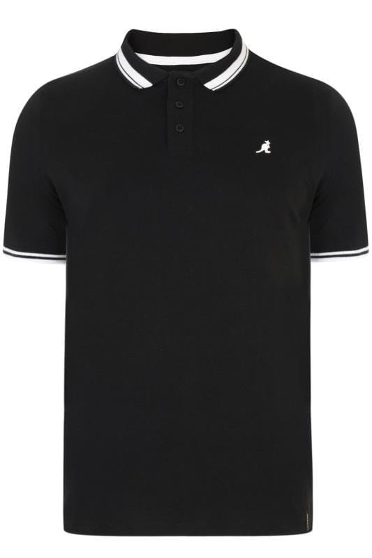 Polo Shirts KANGOL Black Tipped Polo Shirt 201720
