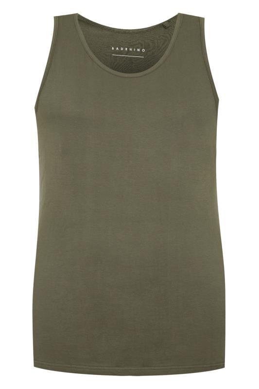 Plus Size Formal Jackets BadRhino Khaki Green Vest Top
